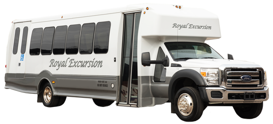 If shuttle bus service or just a smaller capacity bus is what you need, then our 30 passenger deluxe minicoach is a great choice. Our bus offers roomy and comfortable seating, hardwood floors, a flat screen television, iPod hook-up, and is wheelchair accessible.