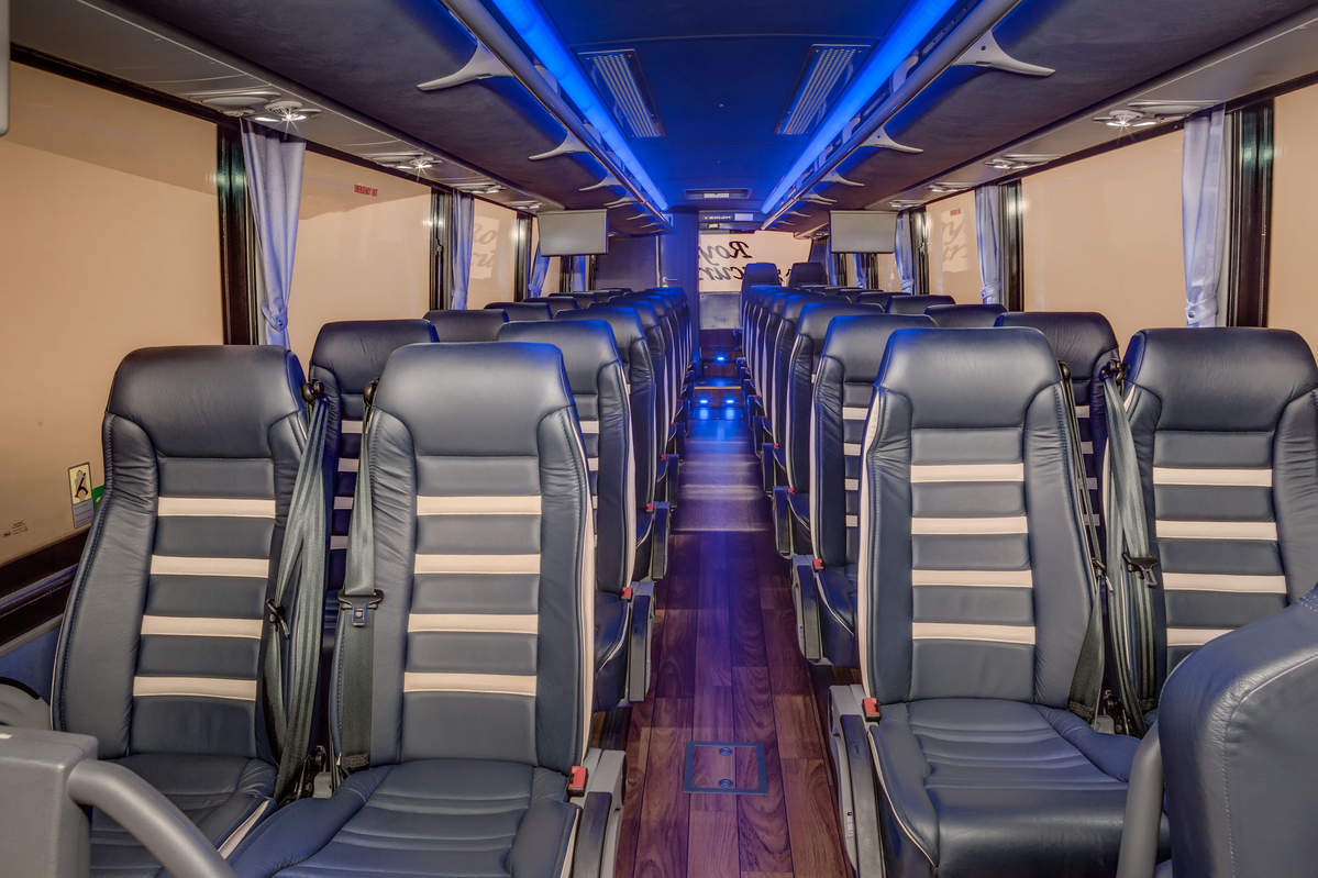Deluxe Motorcoach 38 Passenger Charter Royal Excursion