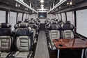 Indiana Luxury Party Charter Bus Service Interior