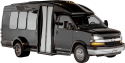 <p>Our 12 passenger luxury limo/party bus is the choice when your group is more on the intimate side but you still desire a high-energy,