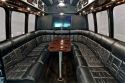 Luxury Party Bus Interior