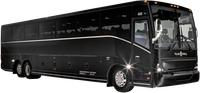 "56 Passenger Luxury ""Rockstar"" Motorcoach"